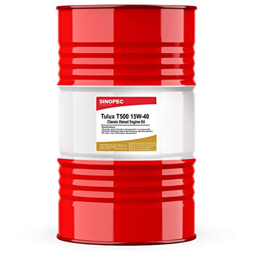 Sinopec Tulux T500 15W40 Classic Diesel Engine Oil - 55 Gallon Drum (1)