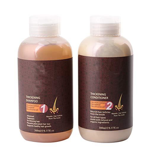 Champú de jengibre, líquido para el crecimiento del cabello, sin estimulación, suave, sin aceite de silicona, duradero, seguro, para el hogar, peluquería, salón para el cabello