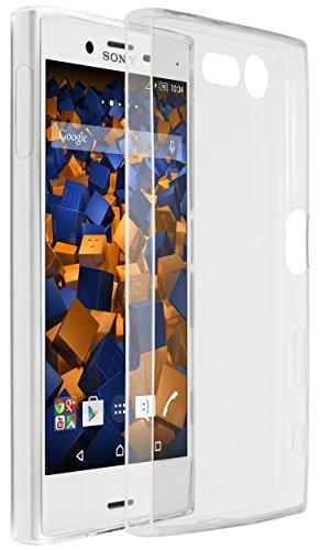 mumbi Hülle kompatibel mit Sony Xperia X Compact Handy Hülle Handyhülle dünn, transparent
