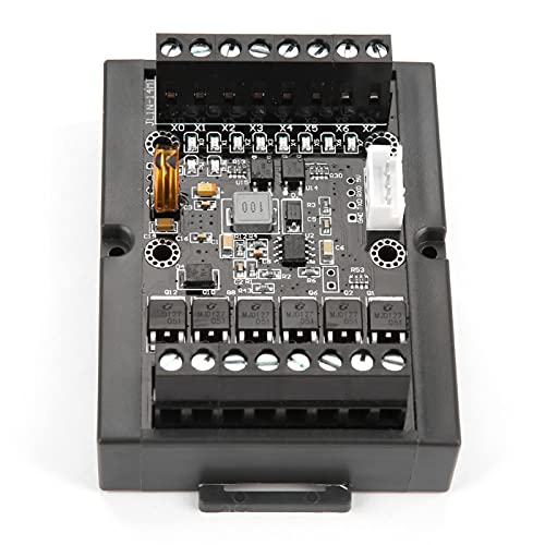 Módulo de relé FX1N-14MT, Tablero de Control Industrial PLC Módulo de retardo de relé programable FX1N-14MT con Carcasa