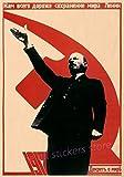 Leinwanddrucke Poster,Lenin Engels Und Marx In Leningrad