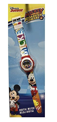 Mickey Mouse- Smart Watch Armbanduhr, Multicolor (KD-WD19647)