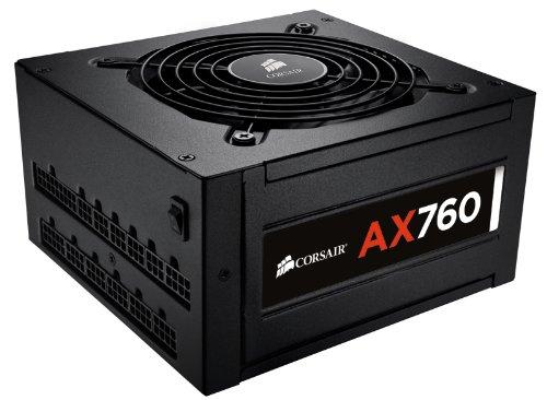 Corsair AX760 Professional Series 760 Watt ATX Power Supply Unit (80 PLUS Platinum Certified)