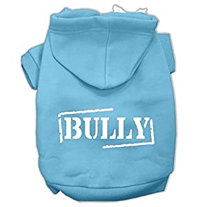 Mirage Pet Products Bully Screen Printed Pet Hoodies