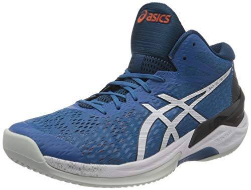 Asics Sky Elite FF MT, Indoor Court Shoe Hombre, Reborn Blue/White, 44.5 EU