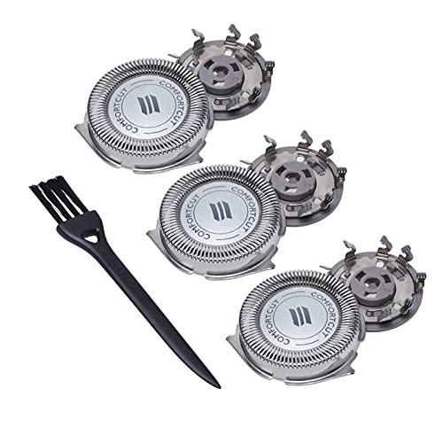 Poweker - Cabezales de repuesto para afeitadora eléctrica Phil-ips SH30 / 52...
