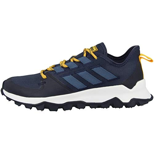 Adidas Schuhe Kanadia Trail Trace Blue-Tech Ink-Active Gold (EE8183) 42 Blau ✅