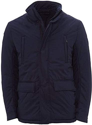 Emporio Armani Men's Field Jacket, Navy, 52