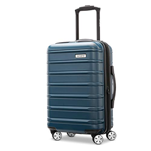 Samsonite Omni 2 Hardside Expandable Luggage with Spinner Wheels, Nova Teal, Carry-On 20-Inch