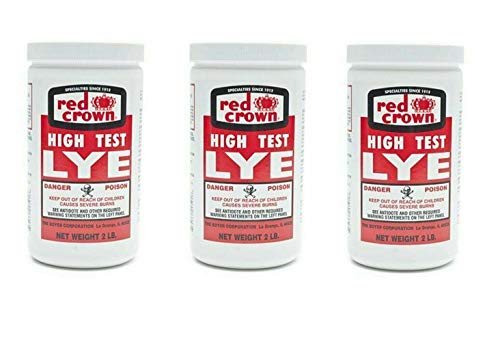 The Boyer Corporation Red Crown Lye for Making Award-Winning Handcrafted Soaps 2...