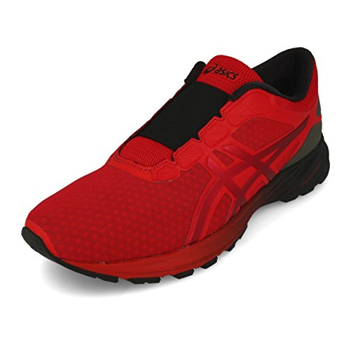 Asics Dynaflyte 2 The Incredibles Hombre Running Trainers T8F1N Sneakers Zapatos (UK 7.5 US 8.5 EU 42, Classic Red Black 2323)