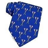 Alynn Herren Hipster Krawatte/Krawatte, 100% Seide, Blau