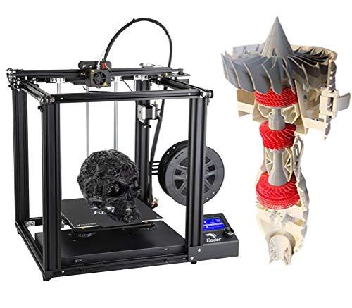 HARTI 3D-printer, een vliegtuigmotor, 250 x 220 x 220 mm grote ruimte bouwen.