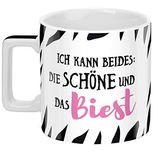 Sheepworld 46530 Wortheld Schöne und das Biest, Kaffee, Porzellan Tasse