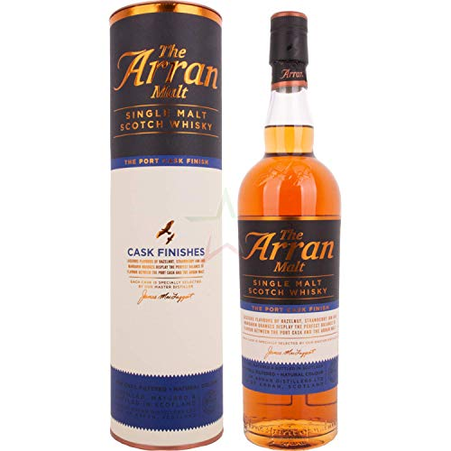 The Arran Malt CASK FINISHES The Port Cask Finish Single Malt Scotch Whisky 50,00% 0,70 lt.