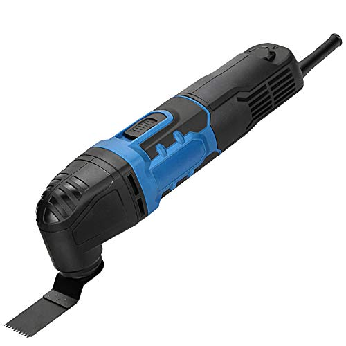 G LAXIA Oscillating Tools, 280W Oscillating Multitool Kit with 3 Degree Oscillation Angle, 6 Variable Speed, 17 Pieces Accessories