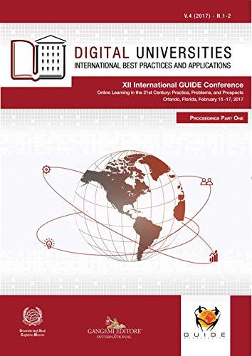 Digital Universities V.4 (2017) n. 1-2. International best practices and applications