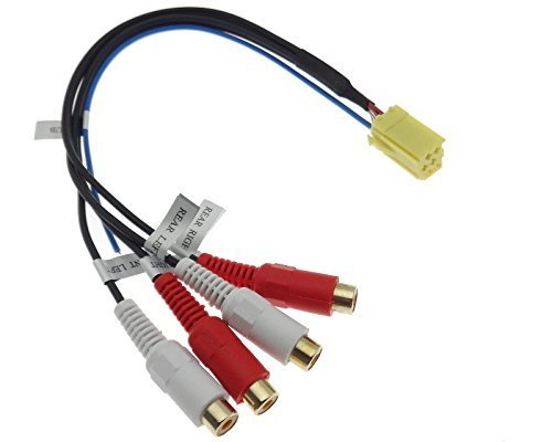 Line OUT mini ISO Adapter Remote Endstufe Verstärker Navi Plus MCD MFD Concert