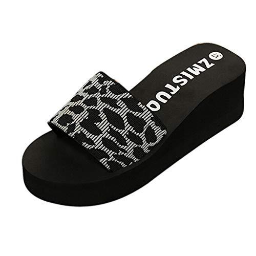 Chaussures Femme Compensées éTé Tongs Hommes Pas Cher Chaussons Femmes Interieur Pantoufle Femmes Hiver Antidérapant Dames Tongs LianMengMVP