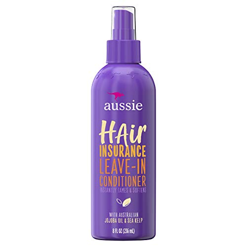 Aussie Conditioner Hair Insurance Leave-in Spray, Citrus, 8 Fl Oz
