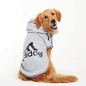 Evergreens Manteau Big Pull en coton pour chien