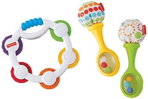 Fisher-Price Tambourine and Maracas Gift Set
