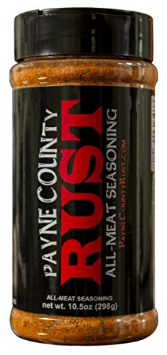 Payne County Rust Seasoning BBQ Keto Carnivore Zero Carb Spice 16floz. Shaker