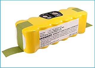 Sponsored Ad - Synergy Digital Vacuum Cleaner Battery, Works with iRobot Scooba 450 Vacuum Cleaner, (Ni-MH, 14.4, 2800mAh)...
