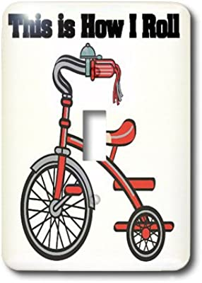 Vintage Bicycle Wallplate Decorative Switch Plate Cover 2 Gang Double Toggle Amazon Com