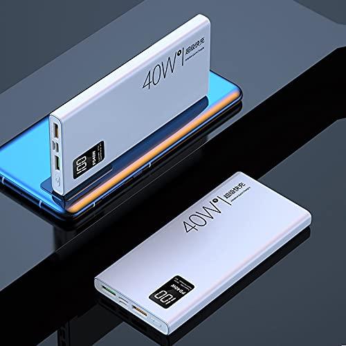 GLNuoke Banco de energía 20000mAh Banco de energía Cargador portátil PD 40 W carga rápida para Huawei P30 P40 Powerbank para iPhone 12 11 Samsung xiaomi poverbank