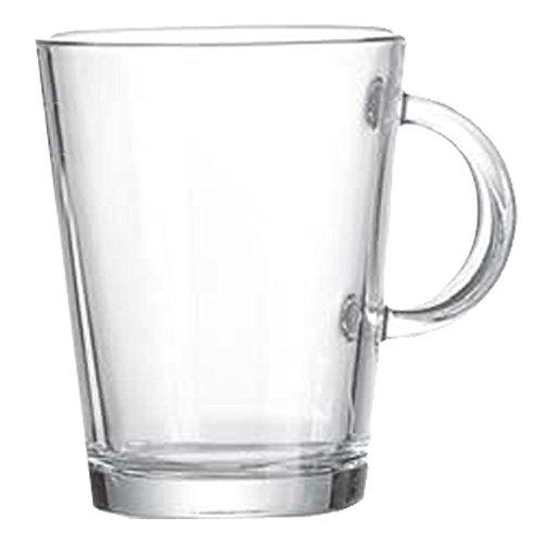 Ritzenhoff & Breker Arco Henkelbecher, Teebecher, Teetasse, Tee Becher, Kaffeetasse, Teeglas, 380 ml, 138184
