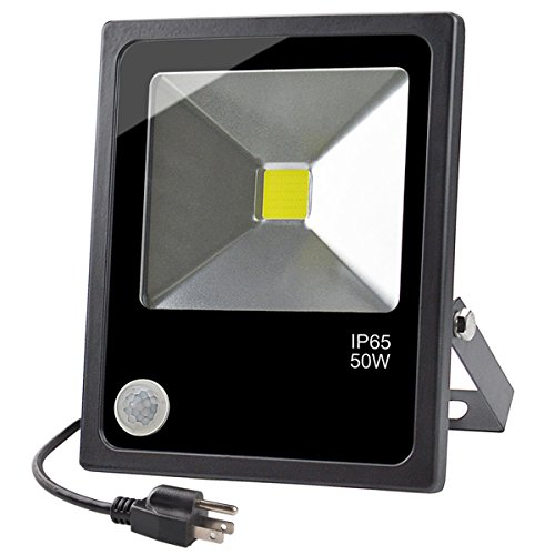 Motion Sensor LED Outdoor Security Flood Light,50W...