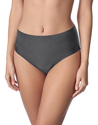 Merry Style Damen Bikini Unterteil M72W (Graphite (9154), 44)