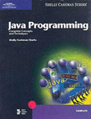 Java Programming Complete Concepts and Techniques
