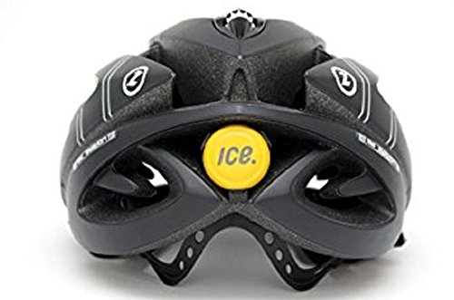ICEdot Bike Helmet Mounted Crash Sensor - Yellow