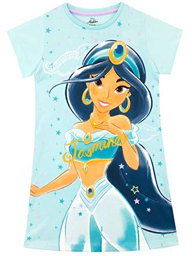 Disney Girls' Aladdin Nightdress Jasmine Size 5 Blue
