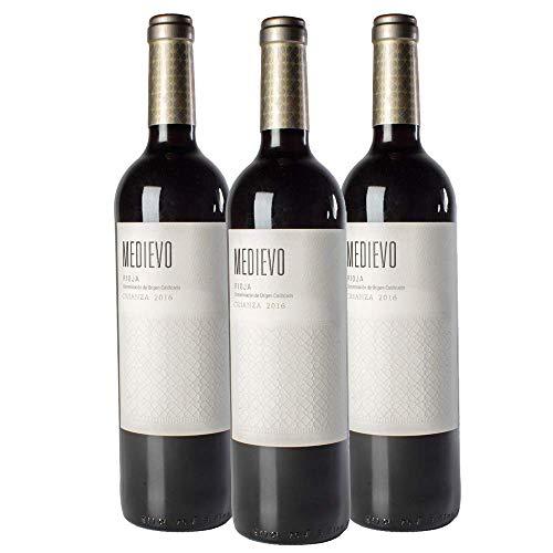 Vino tinto Medievo Crianza | 3 Botellas