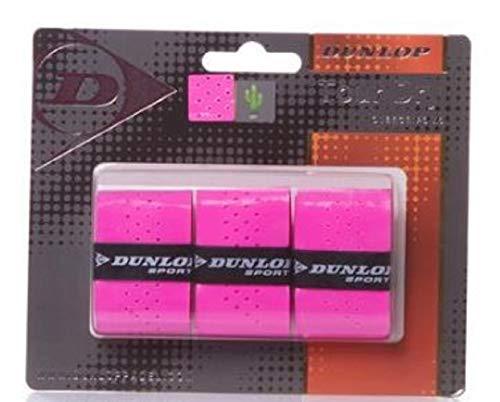 Dunlop Overgrip Tour Dry Blister 3 unidades Rosa
