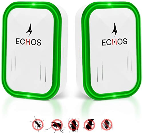 Echos [ NEW 2019 Ultrasonic Pest Repeller - Mouse & Rat Control - Insect &...