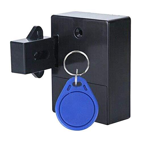 Watkings Cabinet Lock, Smart Induction Lock, Smart Lock for Locker Drawer Smart Sensing Induction Cabinet Wardrobe Door Lock, Hidden Drawer Locker Lock Keyless DIY Without Perforated Hole