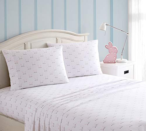 Kute Kids Super Soft Sheet Set  Includes Pillowcases Available in Twin Full amp Queen Size Twin Happy Bunny