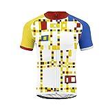 Uglyfrog Camisa de Ciclismo para Hombre de Manga Corta Respirable para Hombre Camisa de Ciclismo Tops de Ciclismo para Bicicleta DXMX02
