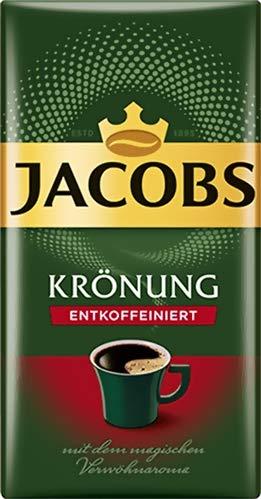 Jacobs Krönung Kaffeepulver entkoffeiniert 500g