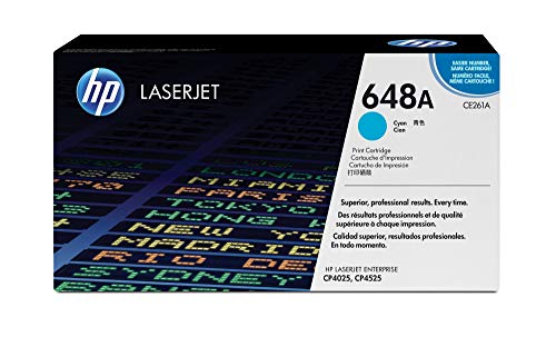 HP 648A Cyan Original LaserJet Tonerkartusche