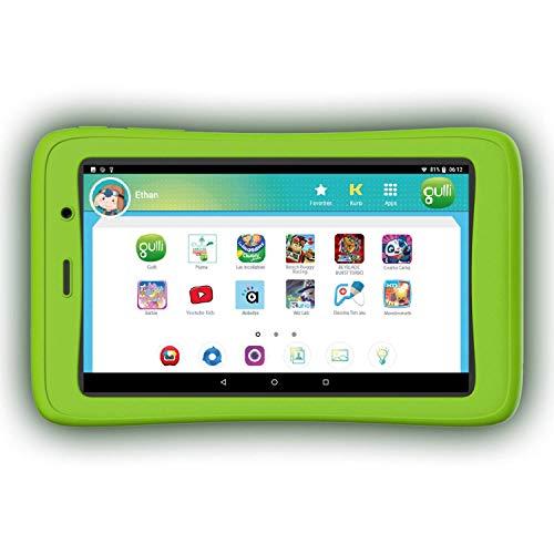 """Gulli, Tablette Gulli Kurio Connect 2-7"""" 8 Go, Tablette enfant contrôle parental, appli enfants, 4 ans"""