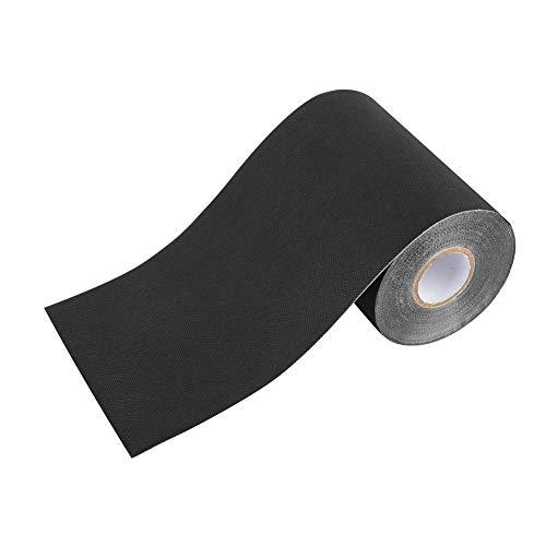 Kunstrasenband, selbstklebendes Rasenband Rasenteppich-Nahtband zum Verbinden von Befestigungsmatten Teppich, Gras Teppichklebeband (15 cm x 10 m)(Schwarz)