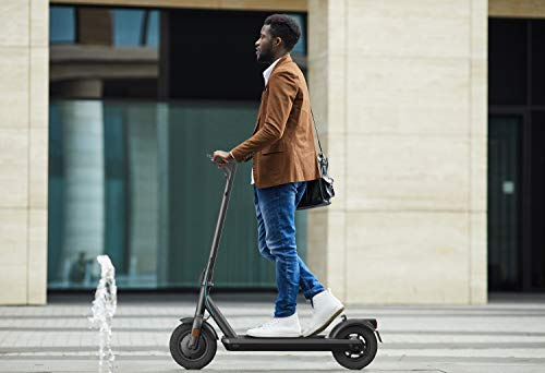 ODYS αlpha X10 Faltbarer E-Scooter mit Straßenzulassung (max. Geschwindigkeit 20 km/h, bis zu 30 km Reichweite, max. Belastung 120 kg, 10