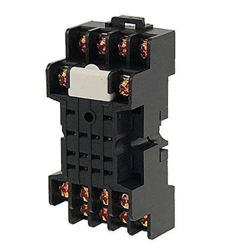 Aexit PYF14A 14-Pin-Hutschienen-Relaissockel für MY2 MY4 Leistungsrelais (2b5c2ddebd2fd4328e8a9e299c4aa70d)