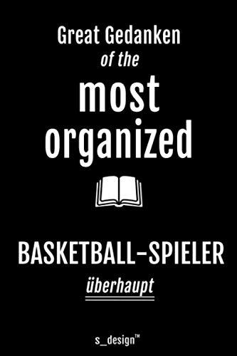 Notizbuch für Basketballer / Basketball-Spieler: Originelle Geschenk-Idee [120 Seiten liniertes blanko Papier]