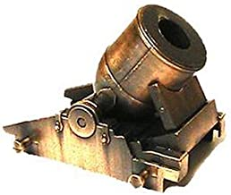 Mortero de bronce de la Guerra Civil en miniatura
